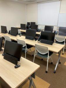 画像:研修室内の風景